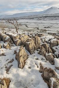 Twisleton Winter Snow