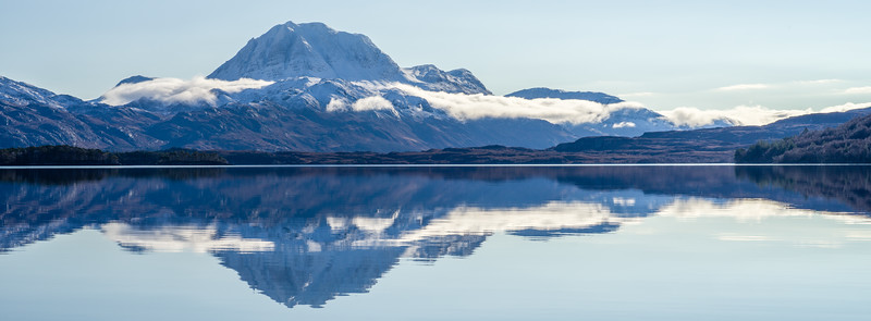 Slioch Morning Reflection