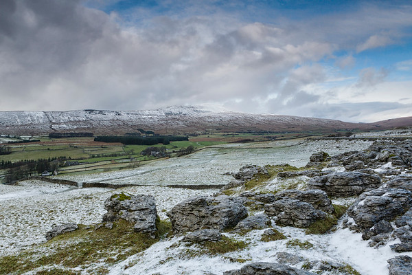 Whernside in Winter.