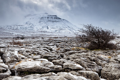 Winter Storm Clears Ingleborough