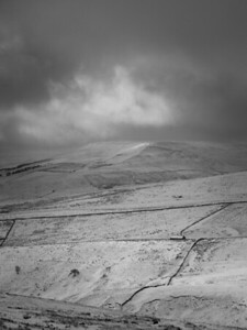 Winter Light on Widdale Fell