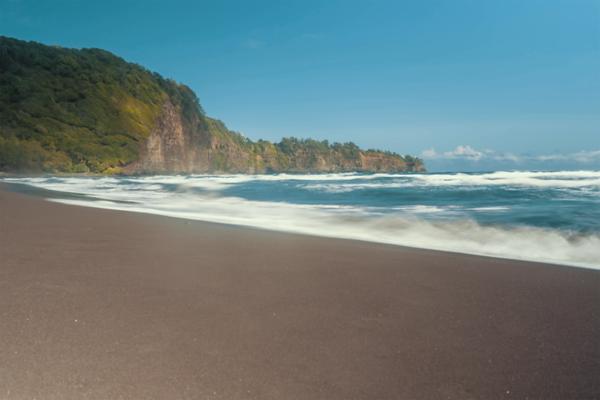 Pololu Beach, Big Island, Hawaii