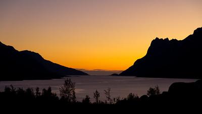Ersfjorden, a fjord outside Tromsø