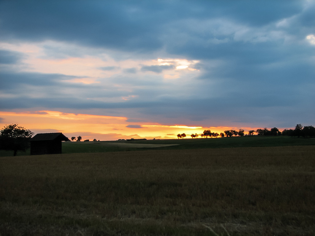 Sunset in Franconia
