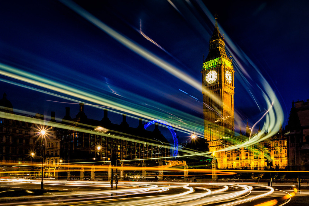 Big Ben and the buses
