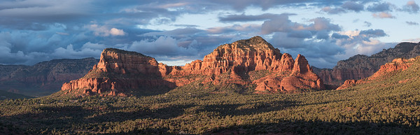 Twin Buttes and Two Nuns