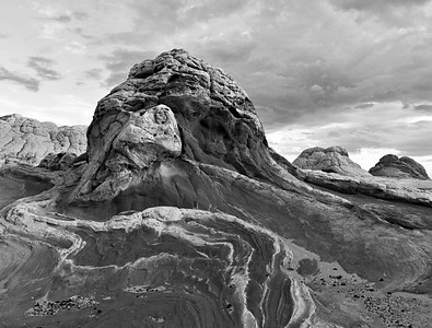 Molar. Sandstone formation on the Paria Plateau in northern Arizona.