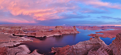 Alstrom Point over Lake Powell