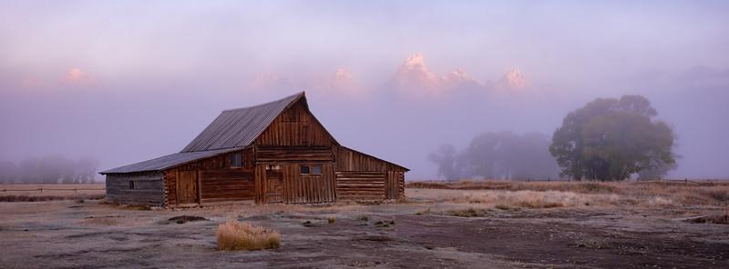 Foggy Moulton Morning