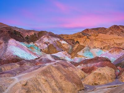 Artist's Palette Sunset