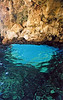 the blue eye grotto near Paleokastrsta, Corfu - 2003