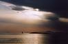 Athens sunset 2005