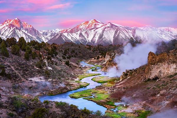 Mammoth Lakes Creek Sunrise