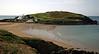 view across to Burgh Island, Devon - September 2007