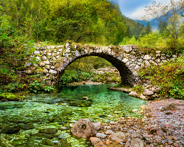 Mostnica Gorge Bridge