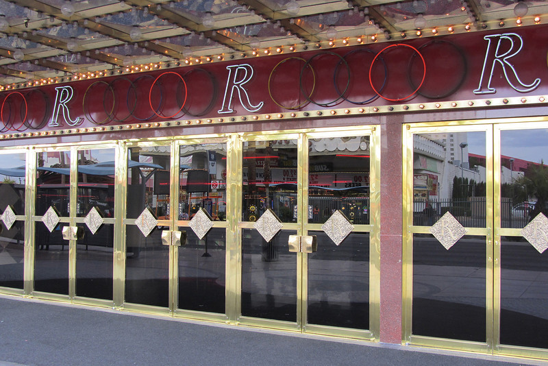 Front doors of the Riviera