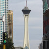 The Stratosphere (looking North from in front of the Riviera.)