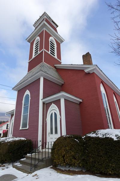 The First Baptist Church. Manchester, VT
