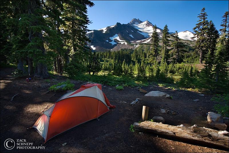 """<font color=""""#FFFFFF"""" size=""""4"""" face=""""Verdana, Arial, Helvetica, sans-serif"""">Jefferson Camp</font><br> Mt. Jefferson, Oregon"""