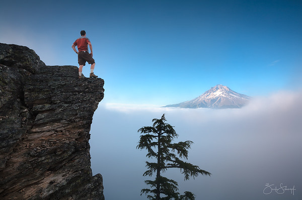 Edge of the Earth Mt. Hood, Oregon