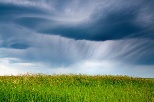 Storm Clouds, Saskatchewan, Canada