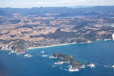 Hahei, Mahurangi and Te Tio Islands