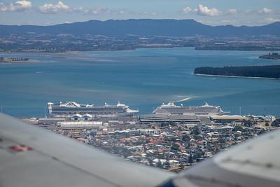 Cruise Ships in Tauranga harbour