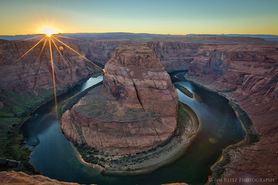 Horseshoe Bend on the Colorado River - near Page, Arizona.