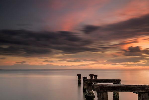 Old Menton Pier