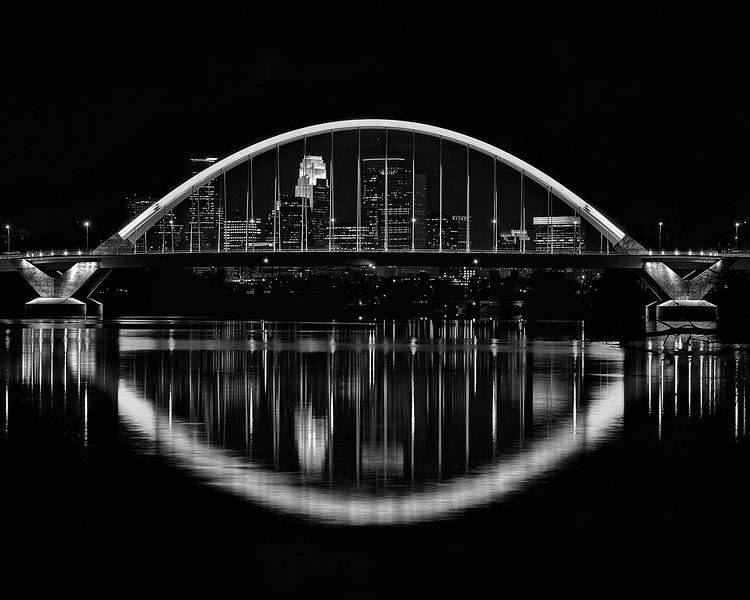 Lowry Bridge and Minneapolis