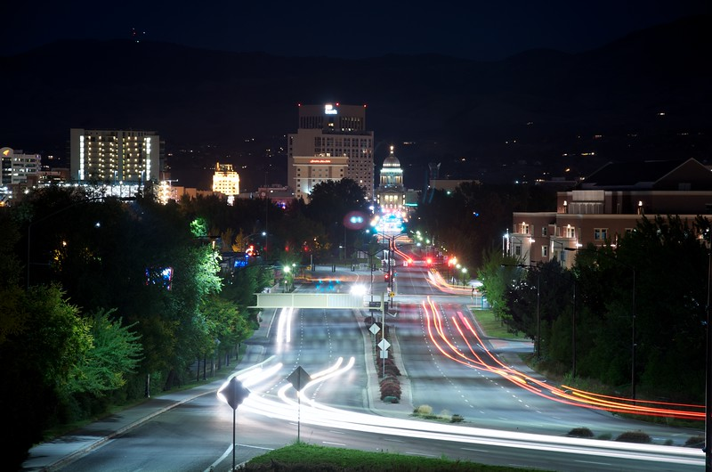 Boise at Nigth 7-02-2012 2