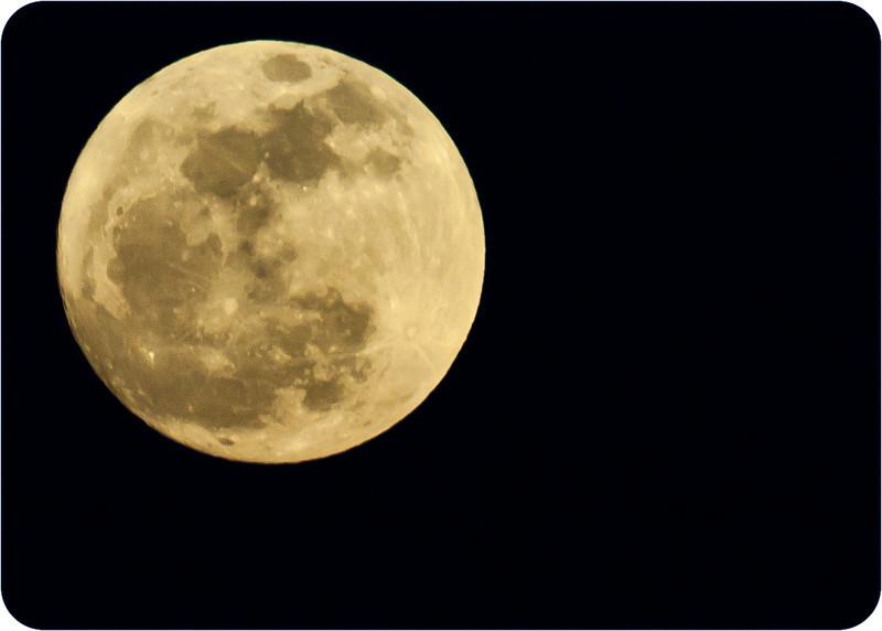 Big moon.