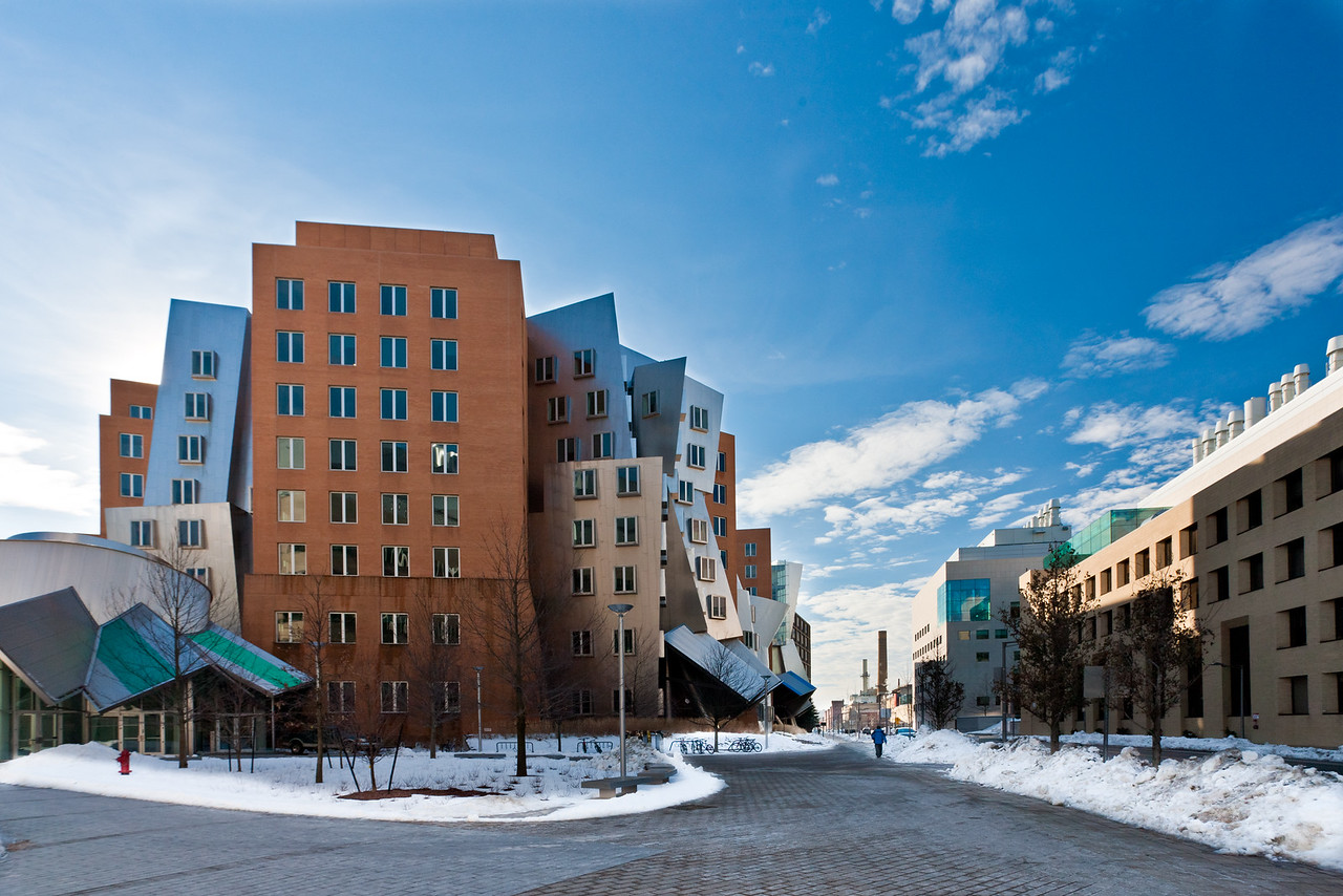The STATA Center. CSAIL and EECS of MIT.