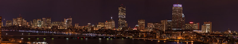 Boston Skyline! <br /> This image is 11300x2100 in size. Image also available in 18500x3470, enough to print up to 20 feet by 4 feet.