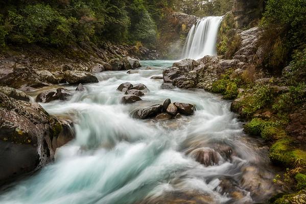 Swirling Waters - Tawhai Falls