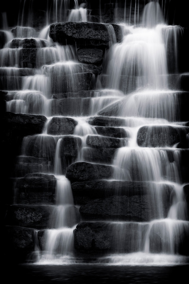 Cascading Waters at Devil's Den