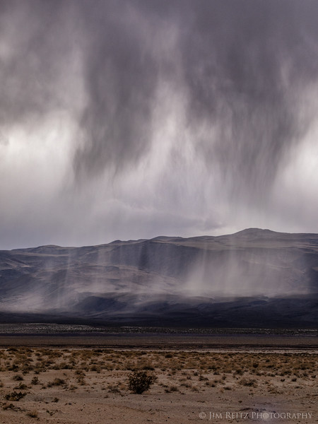 Desert rainstorm - Death Valley National Park