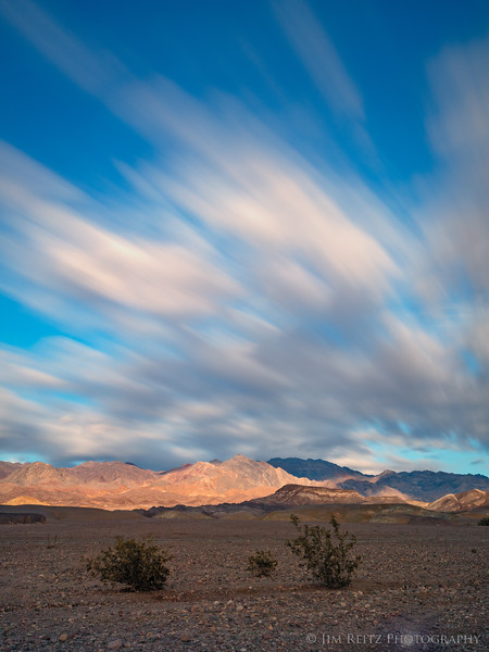 Long-exposure, Death Valley National Park