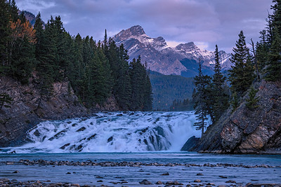 Bow Falls - Banff, Alberta