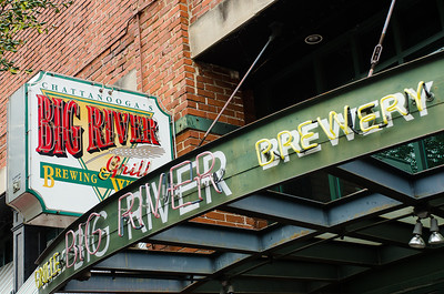 Big River brewing company, downtown Chattanooga