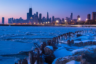 Cold Chicago Morning