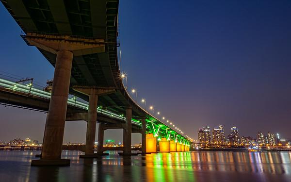 Yeongdong Bridge at Night