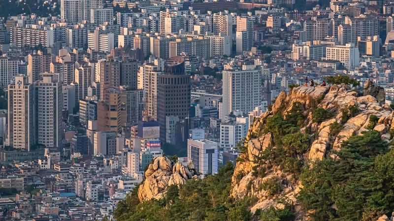 Hiking Above Seoul