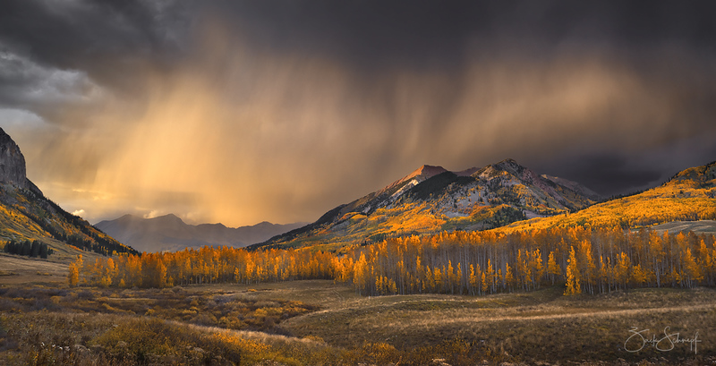 Autumn Storm Light