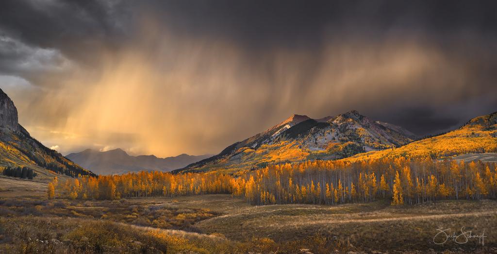 Autumn Storm Light