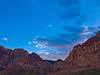 Evening at Red Rock, Nevada