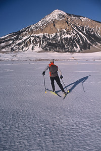 A morning of spring skiing on the corn snow.