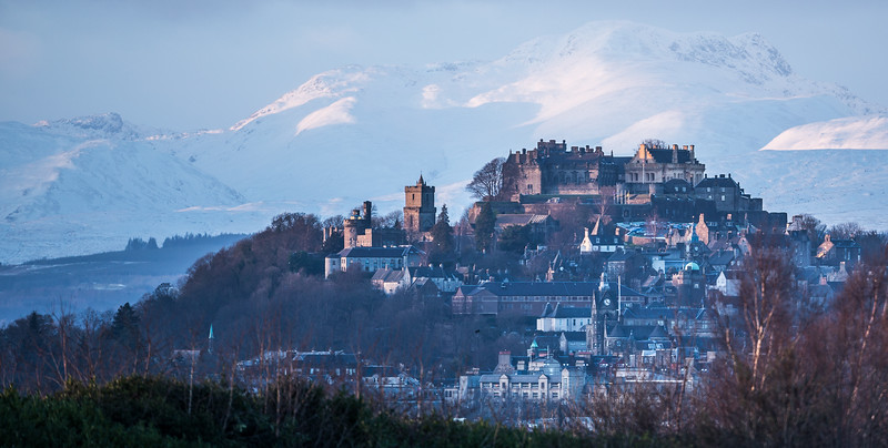 Stirling Castle at dusk (1)