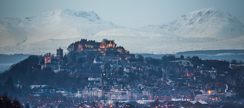 Stirling Castle at dusk (2)