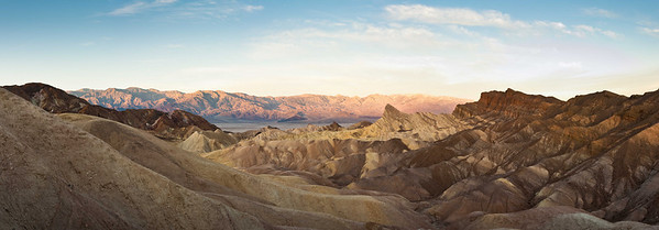 Zabriskie Point and Manley Beacon Sunrise 2009
